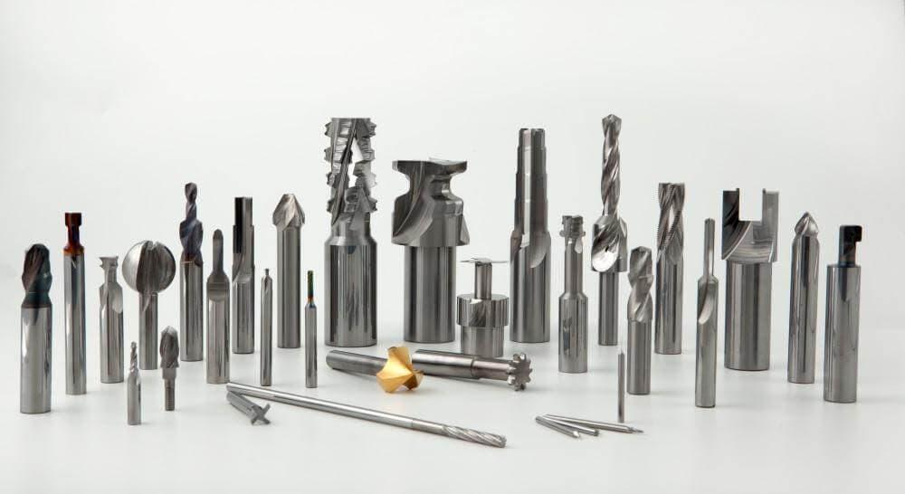 Фрезерные инструменты для металлообработки – изображение
